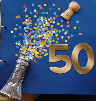 Lbum fiesta 50 a os regalo tocandolaluna - Ideas para cumpleanos de 50 anos ...
