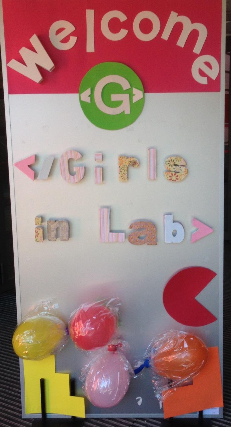 Welcome Girlsinlab by pilucrea